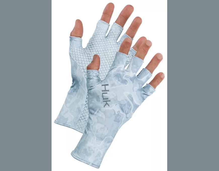 Huk Current Camo Sun Gloves