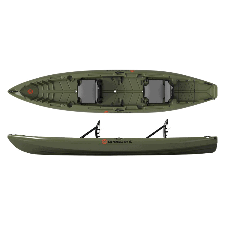 Crescent Crew Tandem Kayak Double