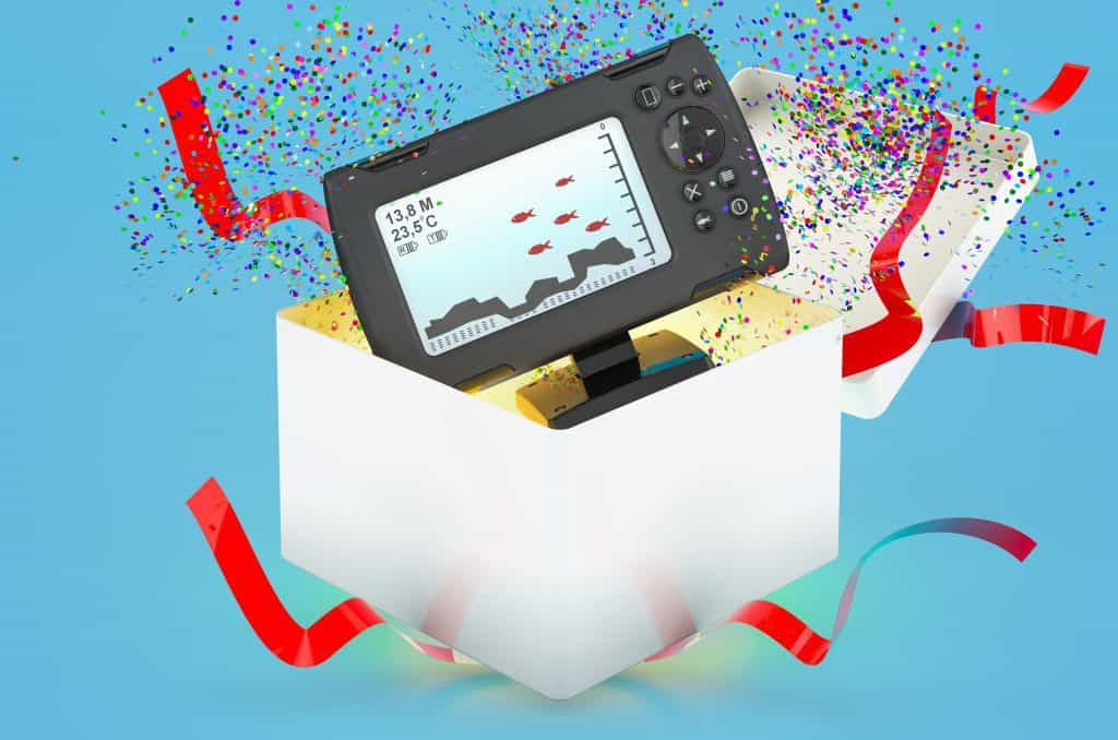 Fish Finder In Gift Box