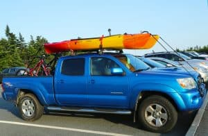 Kayak On Top Of Rack Roof Truck