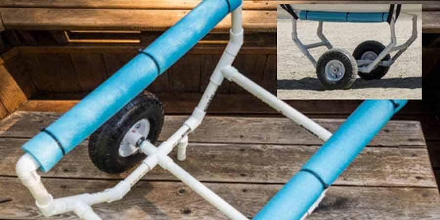 Directions for DIY kayak cart